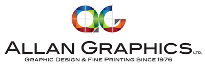 Allan Graphics Logo, Printers, Kingston, Ontario, Canada